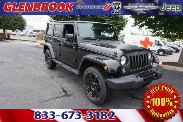 CERTIFIED PRE OWNED 2014 JEEP WRANGLER UNLIMITED SAHARA